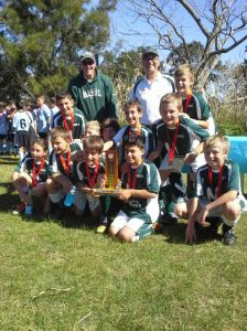 U10A 2013 Premiers coached by Richo