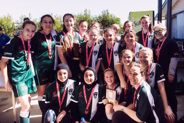 U13 Girls Winners
